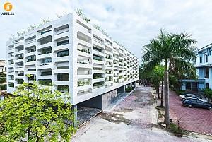معماری ساختمان اداری و دفتر کار SRDP-IWMC