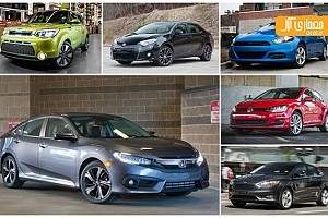 بهترین خودروهای کامپکت جهان در سال ۲۰۱۵