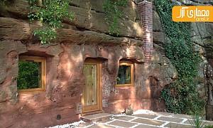معماری و طراحی خانه ای لوکس در غار ماسه ای 700 ساله