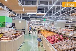 طراحی داخلی فروشگاه و سوپر مارکت Original Life در پکن