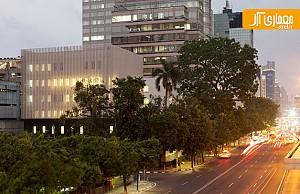 معماری و طراحی سفارتخانه ی فرانسه در جاکارتا