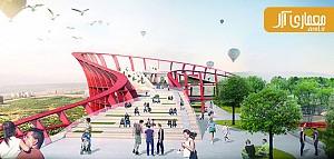 معماری و طراحی یک نشانه ی شهری شاخص در آنتالیا
