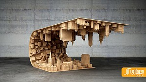 یک شهر زیر این میز قهوه خوری
