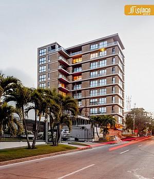 معماری و طراحی مجتمع مسکونی e57 در کلمبیا