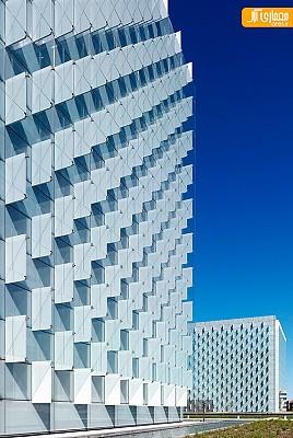 معماری ساختمان کمپانی بزرگ Telefónica