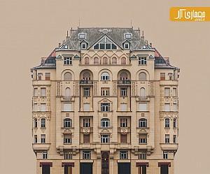 تقارن در نمای کلاسیک ساختمانهای مجاور رود دانوب