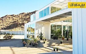 معماری اکوتک: طراحی خانه ای با کانتینرهای مخصوص حمل و نقل