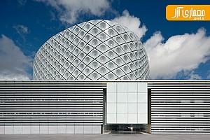 معماری بیمارستان Rey Juan Carlos در مادرید اسپانیا