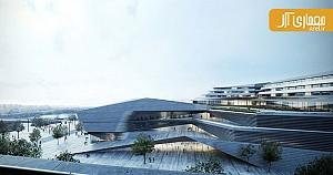 معماری و طراحی سالن اجلاس و ارکستر سمفونیک فرانسه توسط کنگوکوما