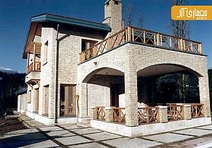 معماری و طراحی ویلای مظهری توسط فرامرز شریفی