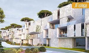 معماری و طراحی مجتمع مسکونی مدولار در شهر طنجه در مراکش