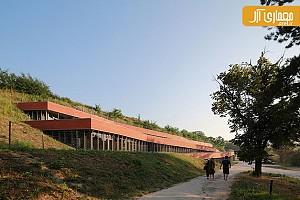 معماری و طراحی موزه ی radionica با الهام از توپوگرافی سایت