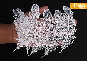 هنرهای زیبا: خلق حیرت انگیز آثار هنری با برش کاغذ