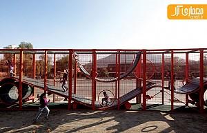 معماری منظر: طراحی پارکی برای کودکان در شهر شیلی توسط آلخاندرو آراونا، برنده جایزه پریتکرز