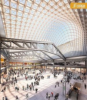معماری و طراحی ایستگاه جدید قطار Penn در نیویورک توسط گروه SOM