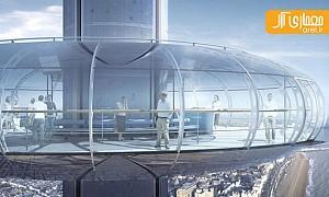 معماری و طراحی اولین ماشین عمودی جهان!