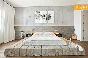طراحی جزئی: ساخت سکوی چوبی برای تخت خواب