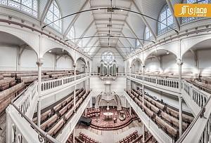 دیافراگم هفته: عکس های پانوراما از کلیساهای آمستردام