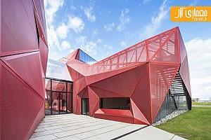 معماری و طراحی  مرکز فرهنگی Beaumont-hague