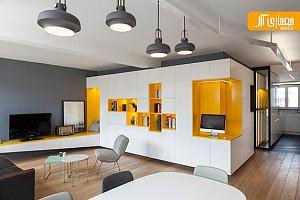 طراحی فضای مسکونی با ایجاد ریتم در محیط