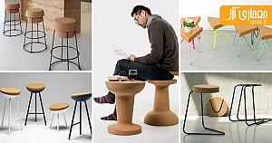 طراحی صندلی های کائوچویی