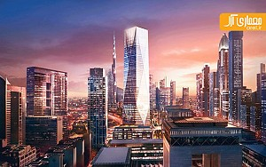 معماری آسمان خراش جدید دبی توسط نورمن فاستر
