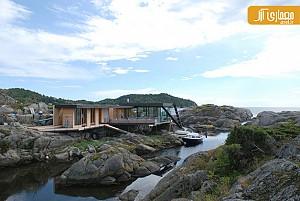 طراحی خانه Lile Aroya در نروژ