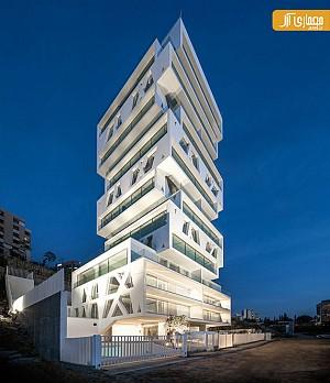 طراحی برج 14 طبقه توسط Orange Architects