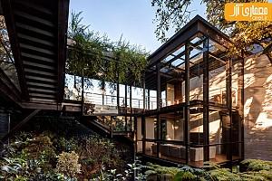 معماری و طراحی خانه Tepozcuautla House