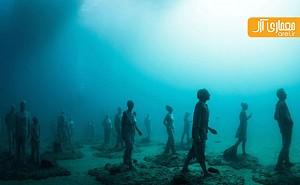 افتتاح فاز اول موزه ی آتلانتیکو در زیرآب های اقیانوس اطلس!