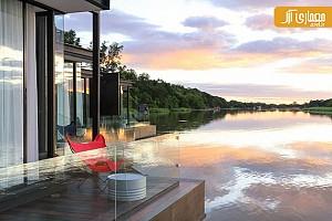 طراحی فضاهای اقامتی معلق در کشور تایلند