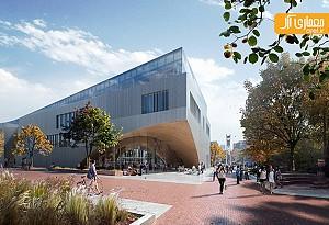 طراحی ساختمان کتابخانه دانشگاه فیلادلفیا توسط گروه معماری Snohetta