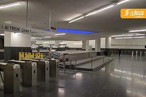 طراحی و معماری ایستگاه مترو شهر ناپل- آلوارو سیزا