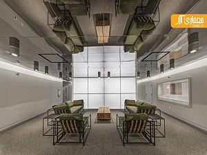 طراحی داخلی انستیتو کتابخانه دیجیتال o donnell - دالاس