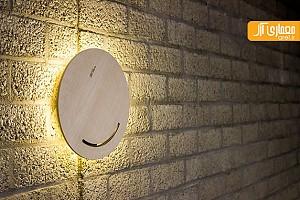 طراحی لامپ خلاقانه:Touch and Glow