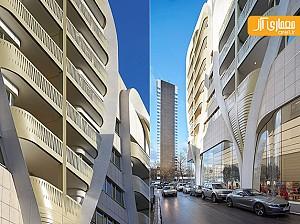معماری شناور ساختمان تجاری، مسکونی در قلب اروپا - UNStudio