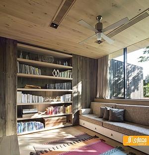 معماری خانه ای از جنس چوب، عایق در برابر صدا
