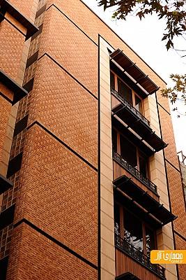 معماری ساختمان مسکونی شهرزاد دروس، محمدرضا نیکبخت
