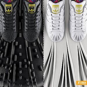 طراحی کفش آدیداس توسط زاهاحدید