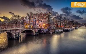دیافراگم هفته: نگاهی ویژه به شهر آمستردام در شب