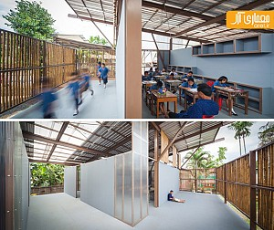 معماری زمینه گرا: طراحی مدرسه روستایی بعد از زلزله ی تایلند