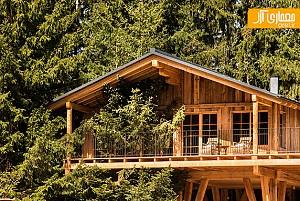 طراحی داخلی هتل به سبک کلبه های جنگلی