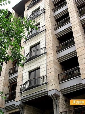 معماری ساختمان مسکونی شارستان پسیان، محمدرضا نیک بخت