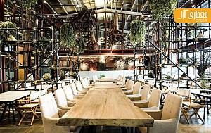 میزهای ناهارخوری چوبی با حس چوب طبیعی
