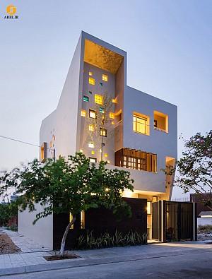معماری و طراحی داخلی ساختمان، حجم و طراحی با مفهوم