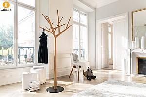 درختی در خانه برای آویختن لباس