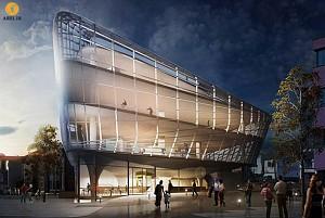 طراحی و معماری نخستین مجموعه ی ورزشی تخصصی اسکیت با نام SkatePark