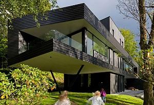 معماری و معماری داخلی خانه ی یک معمار در نروژ