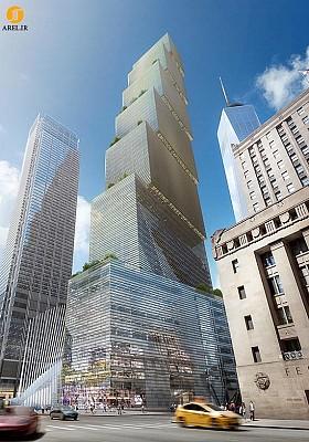طراحی و معماری برج های جدید مرکز تجارت جهانی