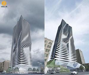 طراحی و معماری برج مسکونی توسط حسین امانت
